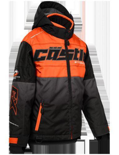 Castle X Strike-G3 Youth Snow Jacket, Orange/Black Product image