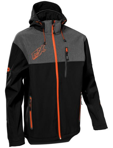 Castle X Barrier G3 Men's Snow Jacket, Orange/Black Product image