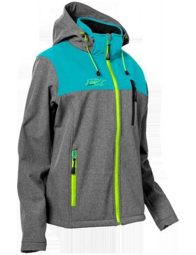 Castle X Barrier G3 Women's Snowmobile Jacket, Turquoise/Grey