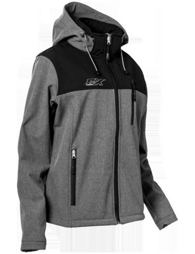 Castle X Barrier G3 Women's Snowmobile Jacket, Grey/Black Product image