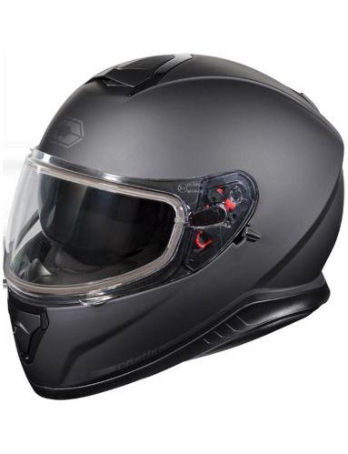 Castle X Thunder 3 SV Snowmobile Helmet, Matte Black Product image