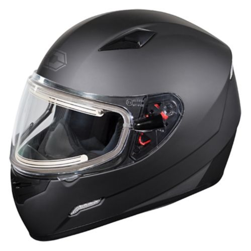 Castle X Mugello Snowmobile Helmet with Electric Shield, Black Product image