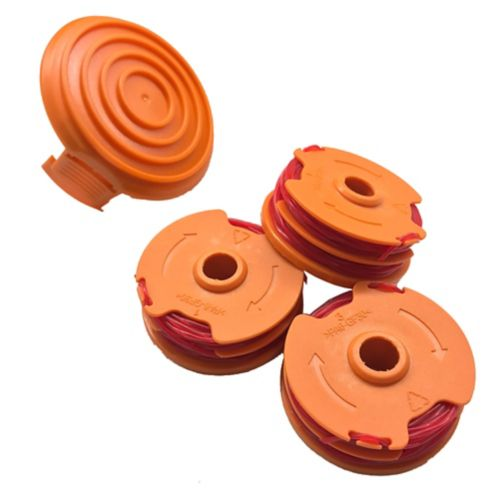 Worx Trimmer Spools & Cap, 3x16-in Product image