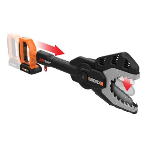 """Worx 20V 2-in-1 Pole Saw and Jaw Saw, 6"""" Product image"""