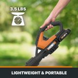 Worx Air 20V Cordless Leaf Blower/Sweeper (Tool Only) | Worxnull