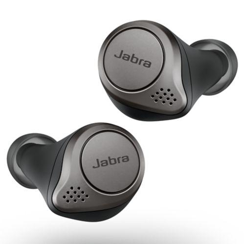 Jabra Elite 75t Truly Wireless Earbuds, Titanium Black Product image