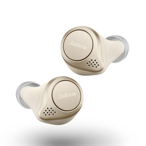 Jabra Elite 75t Truly Wireless Earbuds, Gold Beige Product image