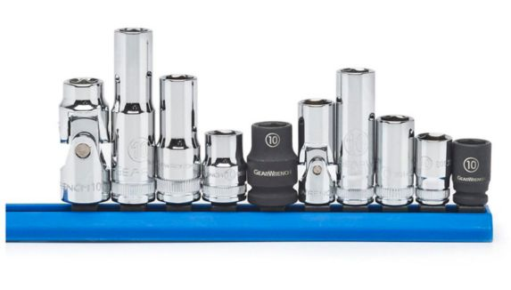 GearWrench Deep Socket Set, 10-mm, 10-pc Product image
