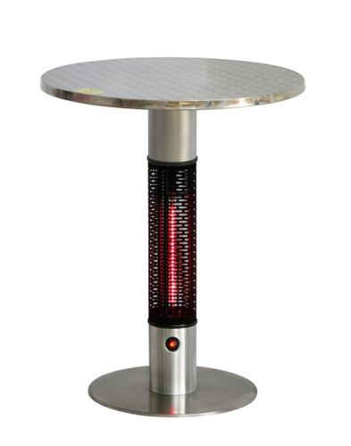 Westinghouse EnerG+ Infrared Electric Patio Heater, Brass Bistro Table Product image