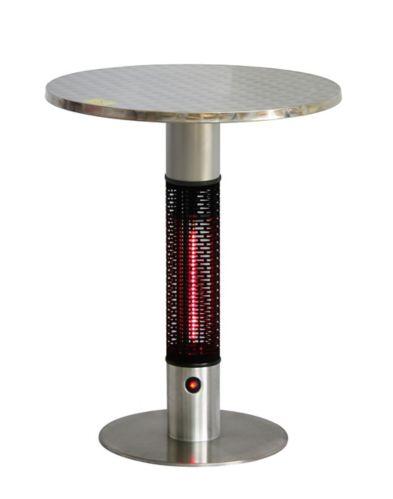 Chauffe-terrasse électrique infrarouge Westinghouse EnerG+, table bistro en laiton Image de l'article