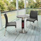 Chauffe-terrasse électrique infrarouge Westinghouse EnerG+, table bistro en laiton | Westinghousenull
