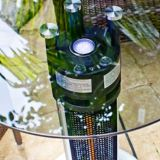 Westinghouse EnerG+ Infrared Electric Patio Heater, Round Glass Bistro Table | Westinghousenull