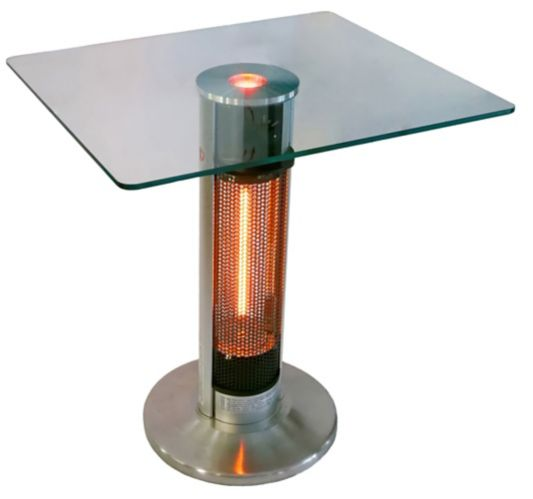 Westinghouse EnerG+ Infrared Electric Patio Heater, Square Top Bistro Table Product image