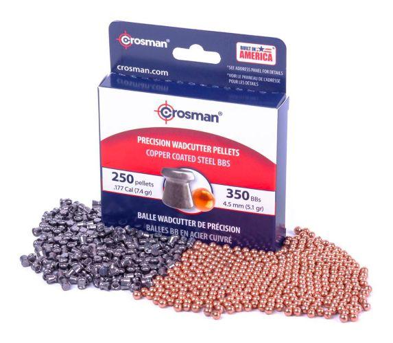 Crosman Dual Precision BBs & Pellets Combo Pack Product image