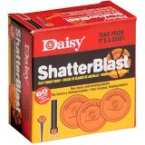 Cibles en argile Daisy Shatterblast, 60 pièces | Daisynull