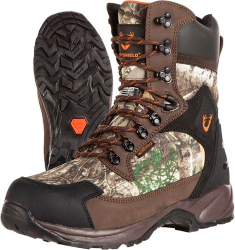 Huntshield Men's Eastern Tracker Field Boots, Realtree Edge Product image