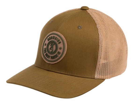 Browning Dusted Loden Mesh Back Flexfit Cap