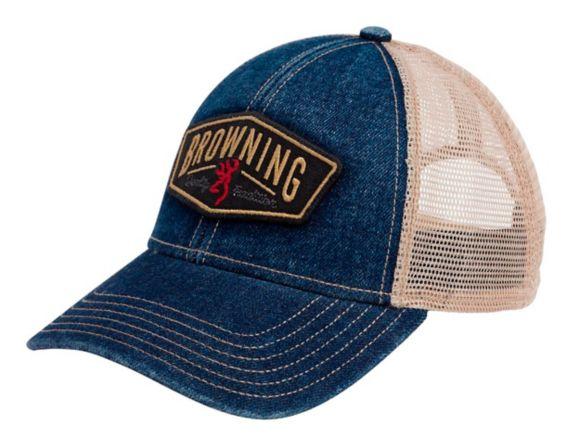 Browning Denim Adjustable Cap