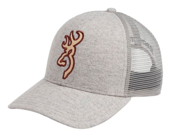 Browning Derby Mesh Back Cap, Grey Product image