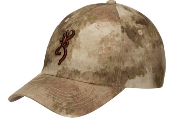 Browning Solid AU Camo Adjustable Cap