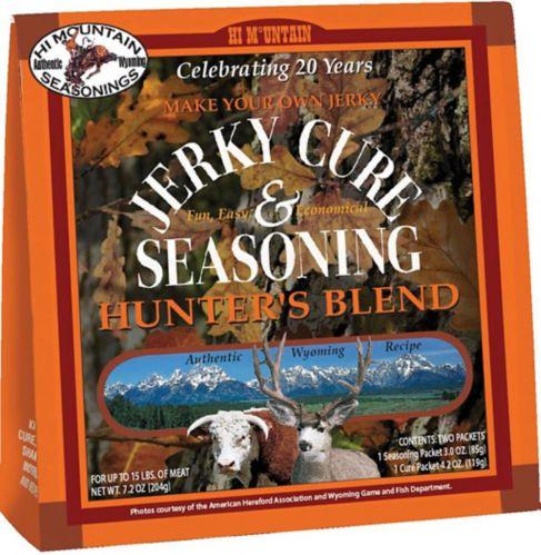 Hi Mountain Jerky Cure & Seasoning Kit, Hunter's Blend