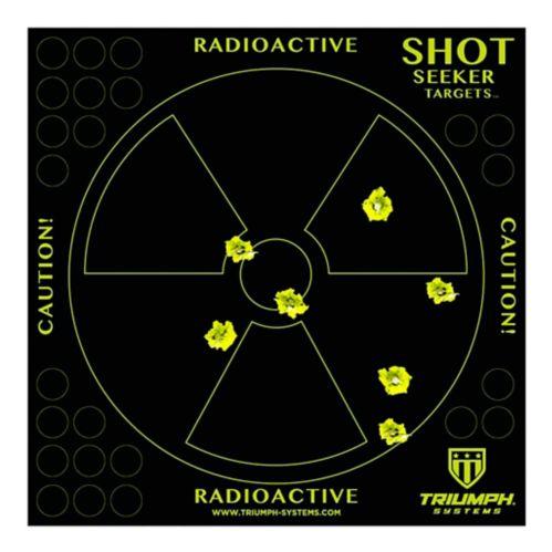 Cibles de tir Triumph Radioactive Warning, paq. 10