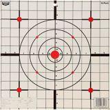 Cible Birchwood Casey EZE Scorer Sight-In, papier, 12 po, paq. 13   NAnull