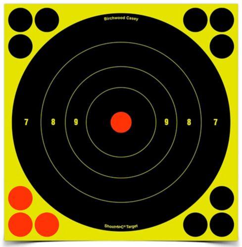Birchwood Casey Shoot-N-C® Bull's Eye Target, 8-in