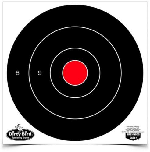 Cibles Birchwood Casey Dirty Bird Bull's Eye, 8 po, paq. 25