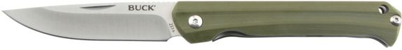 Buck 251 Frontiersman  Knife, Green Product image