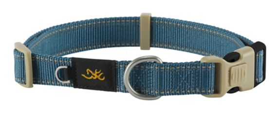 Browning Pet Collar, Blue, Large Product image