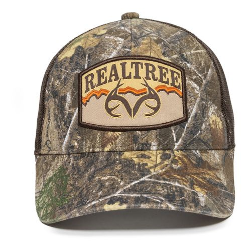 Realtree Edge Mesh Back Hat, Brown Product image