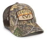 Realtree Edge Mesh Back Hat, Brown | Outdoor Capnull