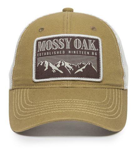 Mossy Oak Casual Mesh Back Hat, Ivory Product image