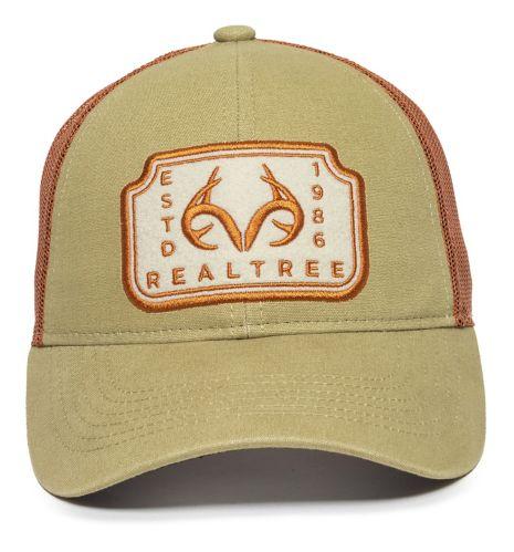 Realtree Casual Mesh Back Hat, Burnt Orange Product image