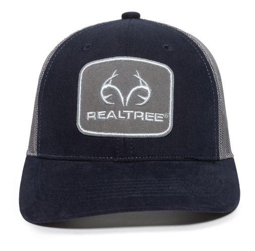 Realtree Casual Mesh Back Hat, Dark Grey Product image