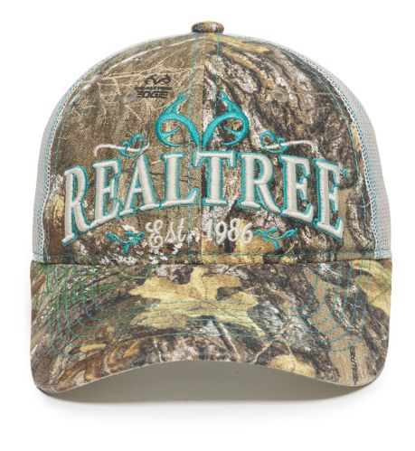 Realtree Edge Women's Putty Mesh Back Hat Product image