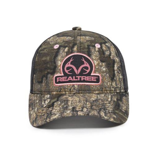 Realtree Women's Mesh Back Hat, Black Product image