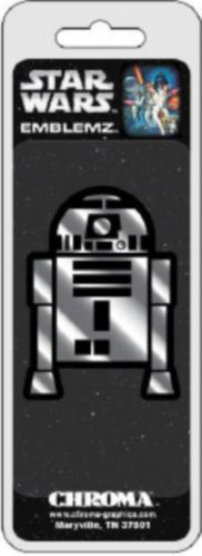 Chroma Star Wars R2D2 Chrome Emblem Product image