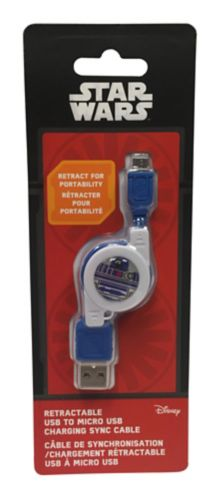 Star Wars R2D2 Retractable Cable Product image