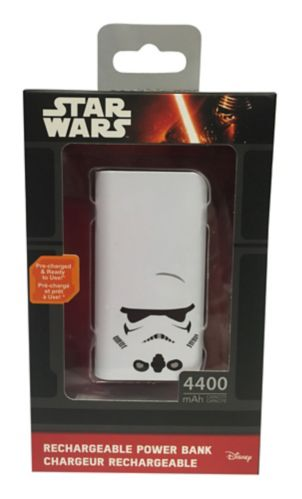 Star Wars Storm Trooper Power Bank, Slim Product image