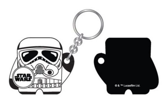Dispositif de localisation Bluetooth Star Wars Foundmi, Stormtrooper Image de l'article