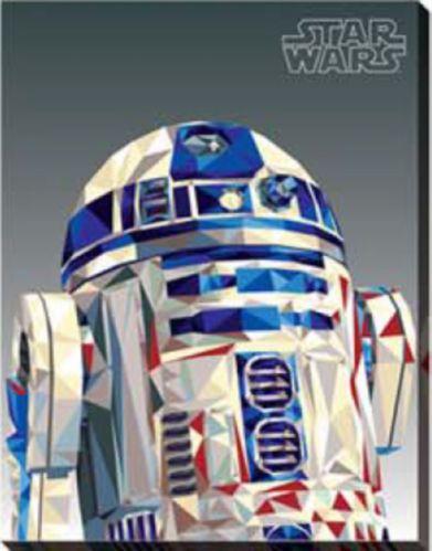 Reproduction sur toile Star Wars, choix varié, 14 x 18 pi