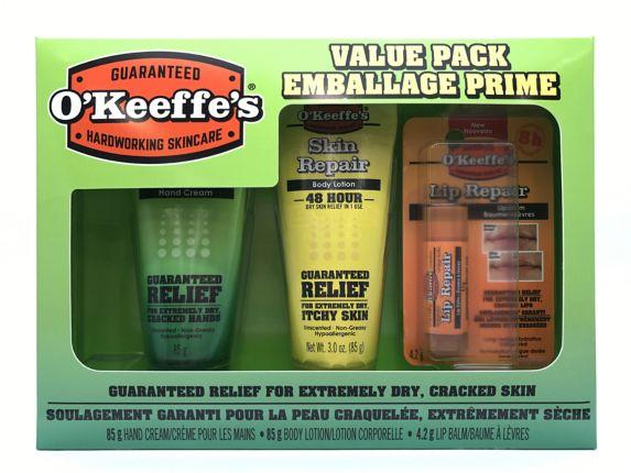 O'Keefe's Hardworking Skincare Value Pack, 3-pk Product image
