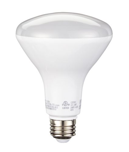 NOMA LED BR30 65W Soft White Light Bulb, 2-pk