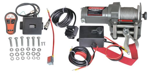 Tundra Tested Winch with Remote Control, 2,000-lb