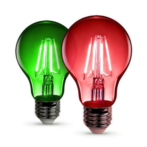 Ampoule à DEL à filament Feit A19, paq. 2 Image de l'article