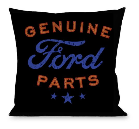 Licensed Automotive Throw Pillow Product image