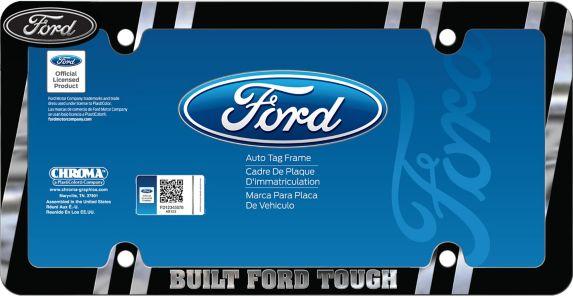 Cadre de plaque d'immatriculation sous licence de marques automobiles Image de l'article