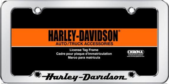 Cadre de plaque d'immatriculation Harley Davidson Image de l'article